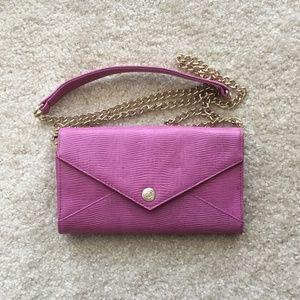 Cute pink Rebecca Minkoff chain purse